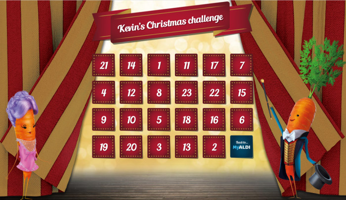 Aldi's Christmas Calendar featured the popular Kevin the Carrot